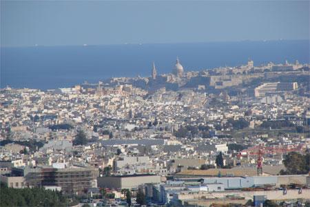 Aussicht Valletta Malta