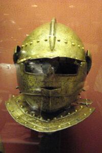 Malteser Ordensritter Ritterhelm